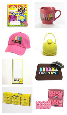 PEEPS(R) themed prizes for contests.  (PRNewsFoto/Just Born, Inc.)
