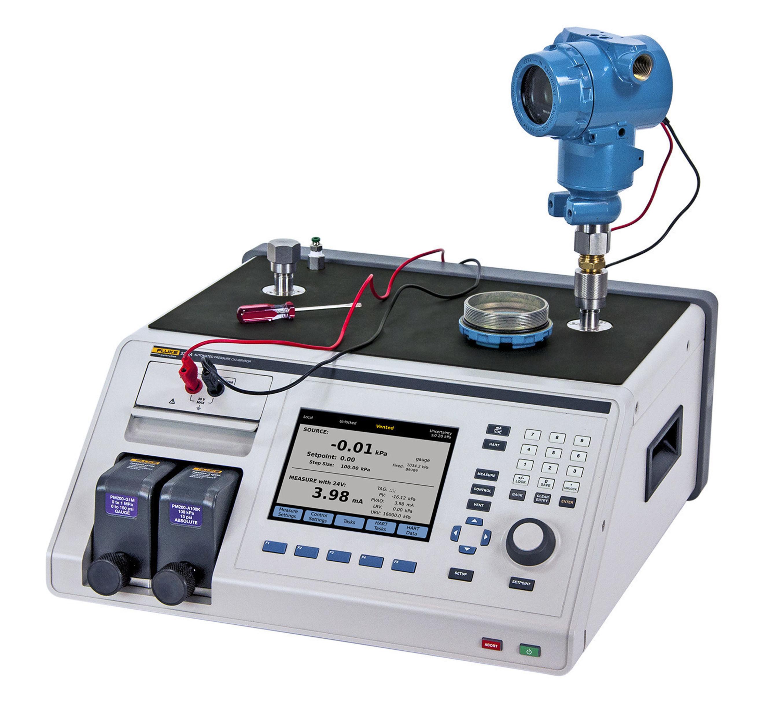 Easy More Comprehensive: Fluke Calibration 2271A Industrial Pressure Calibrator