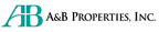 A&B Properties, Inc. Logo.