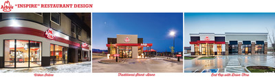 Urban Inline, Traditional Stand-Alone, End Cap with Drive-Thru