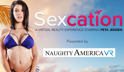 Naughty America's latest virtual reality adult experience takes you on the beaches of California.