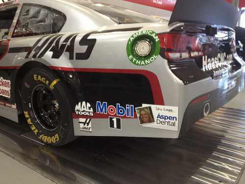 Aspen Dental And Stewart-Haas Racing Celebrate Smiles During Food City 500 At Bristol Motor