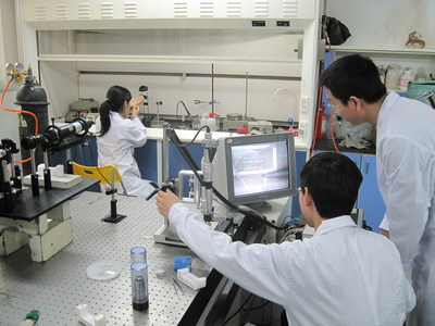 Go With the Flow: Scientists at Tsinghua University in China use IBM's World Community Grid to discover the conditions necessary for moving water through carbon nanotubes 300% faster without requiring additional energy. The discovery has implications for more efficient water filtration. Scientists used massive computing power from volunteers to create simulations of water flow at the molecular level with astonishing detail. (Photo Credit: Tsinghua University)