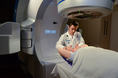 The Edge™ Radiosurgery Suite at Detroit's Henry Ford Hospital is designed to perform advanced, non-invasive cancer procedures anywhere in the body with extreme precision and low toxicity. Treatments are typically outpatient and completed within the same week – with only one to five sessions