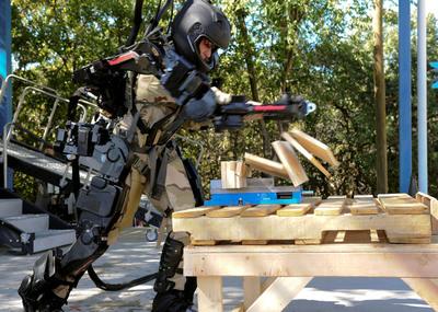 Raytheon Unveils Lighter, Faster, Stronger Second Generation Exoskeleton Robotic Suit