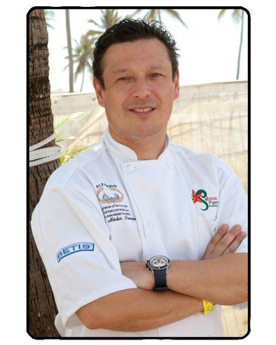Executive Chef Hector Campos will lead F&B at il Lugano hotel and da Campo Osteria.  (PRNewsFoto/Sage Hospitality)