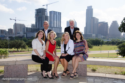 Austin Gives Leadership Council: Standing left to right: Curtis Page, Higginbotham; Steve Visser, Workplace Resource. Seated Left to Right: Leigh Christi, Entrepreneurs Foundation Central Texas; Debbie Johnson, Successful Giving; Jennifer Stevens, JHL Company; Kathleen Lucente, Red Fan Communications. Not pictured: Debbie Bresette, United Way for Greater Austin; Bobby Jenkins, ABC Home and Commercial Services; Ed Kargbo, Yellow Cab; Mike Rollins Austin Chamber of Commerce...