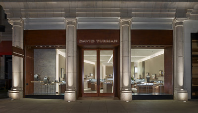 David Yurman Boutique Exterior Shot at The Americana at Brand in Glendale, CA. Photo Credit: Jeffrey Totaro