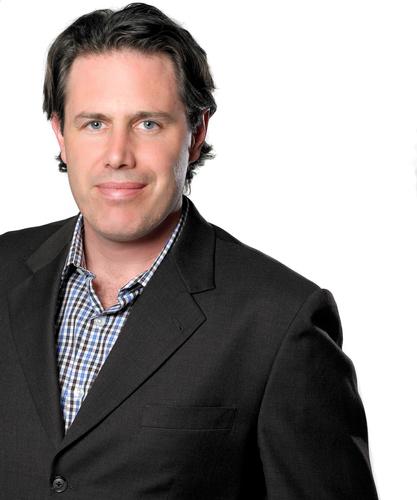 Patrick Scissons, CCO, Grey Canada.  (PRNewsFoto/Grey)