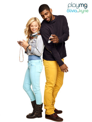 """Basketball Star Kyrie Irving and Disney Actress Olivia Holt Become Partners at PlayMG"