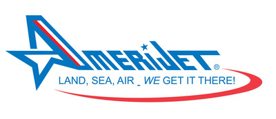 Amerijet International, Inc. is a full-service multi-modal transportation and logistics provider, offering international, scheduled all-cargo transport via land, sea, and air.  (PRNewsFoto/Amerijet International, Inc.)