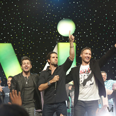 ViSalus Co-Founders Blake Mallen, Nick Sarnicola and Ryan Blair (PRNewsFoto/ViSalus)