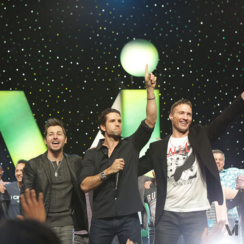 ViSalus Co-Founders Blake Mallen, Nick Sarnicola and Ryan Blair (PRNewsFoto/ViSalus)