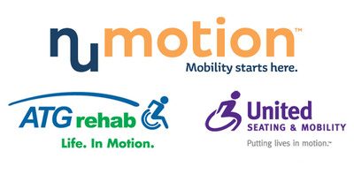 Formed by the merger of ATG Rehab and United Seating & Mobility Numotion aims to be the most responsive and innovative company to do business with. Numotion is the premier mobility and rehab equipment supplier, and remains committed to a strong local focus. Visit www.numotion.com.  (PRNewsFoto/Numotion)