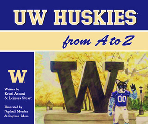 UW Huskies A to Z.  (PRNewsFoto/Green Beanie Books)