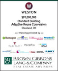 BGL Real Estate Advisors LLC completed development financing for Weston Inc. The multi-faceted capital structure will support the historical conversion of the Standard Building from Class B office space into market rate luxury apartments in downtown Cleveland, Ohio. The $81.0 million financing consisted of: (i) senior construction debt, (ii) subordinated bridge debt, (iii) municipal city and state agency debt (iv) Federal and State Historic Tax Credit Equity, and (v) Weston Inc. GP equity.
