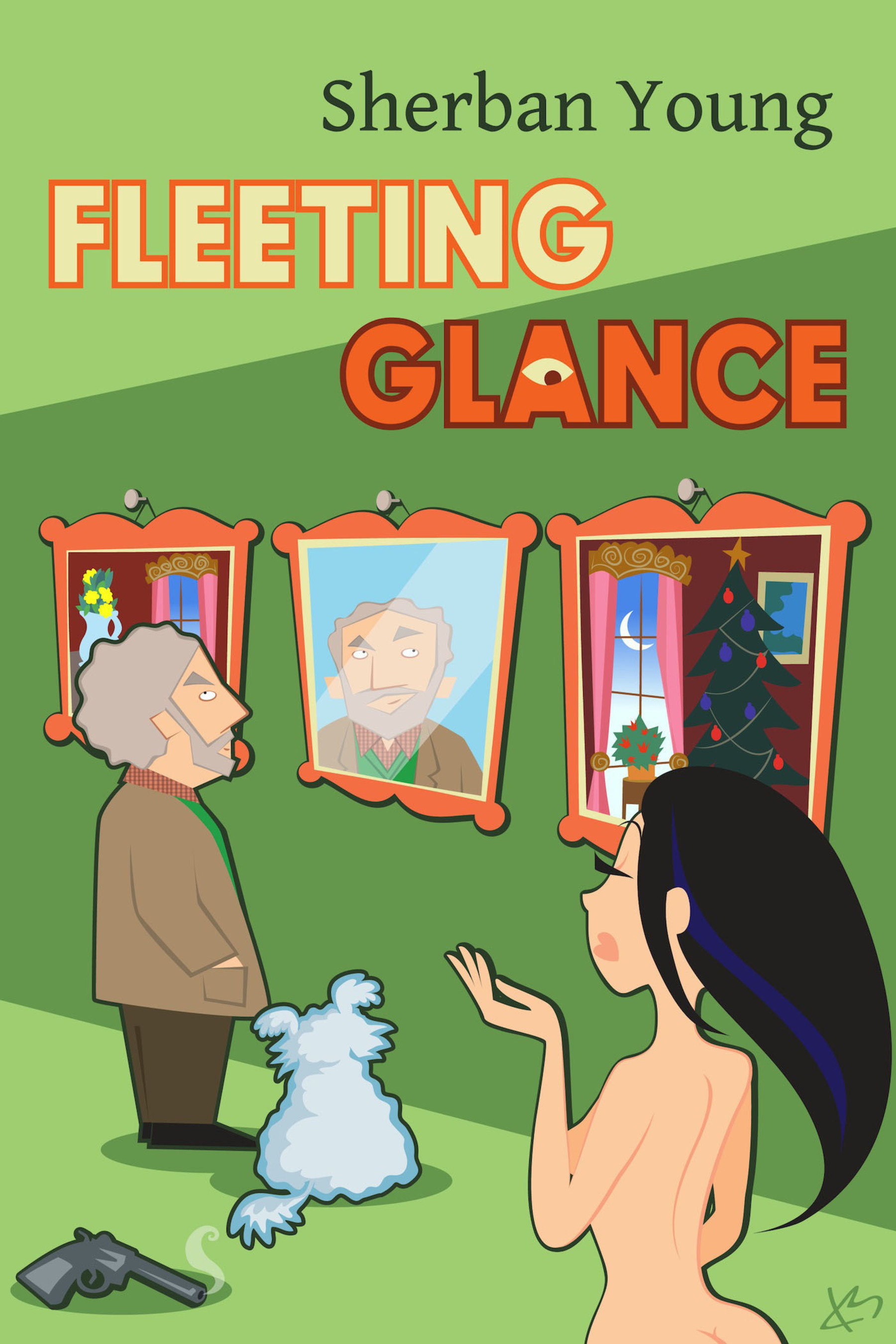 'Fleeting Glance' cover.  (PRNewsFoto/Sherban Young)
