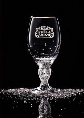 Swarovski Adds Sparkle to Stella Artois Limited-Edition Crystal Chalice.  (PRNewsFoto/Stella Artois)