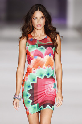 Desigual Names Adriana Lima As The Global Ambassador (PRNewsFoto/Desigual)