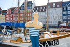 Hanseatic flair in Copenhagen: On 18 and 19 September 2015 the Copenhageners could experience on the Nytorv how Hamburg dances, flickers, relaxes, pulsates and much more. (PRNewsFoto/Hamburg on Tour)