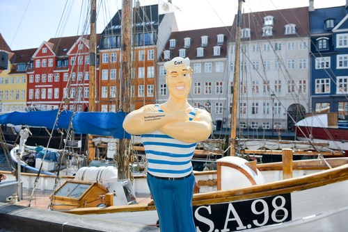 Hanseatic flair in Copenhagen: On 18 and 19 September 2015 the Copenhageners could experience on the Nytorv how  ...