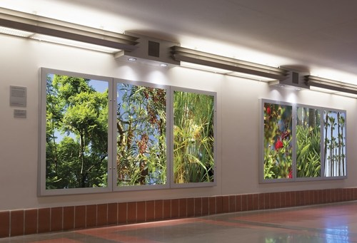 Union Station, Paradise Found, Suzanne Adelman, Artist. Courtesy of Metro (Los Angeles County Metropolitan ...