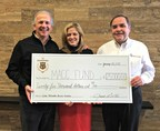 Sartori Company donates $25,000 to MACC Fund (Midwest Athletes Against Childhood Cancer) after successful partnership with Milwaukee Brewers Radio Network during the 2014 MLB season.