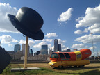 WIENERMOBILE VEHICLES BREAK WORLD RECORDS, GET TATTOOS AND MEET CELEBRITIES AS THEY VIE TO BECOME WIENERMOBILE RUN CHAMPION.  (PRNewsFoto/Oscar Mayer)