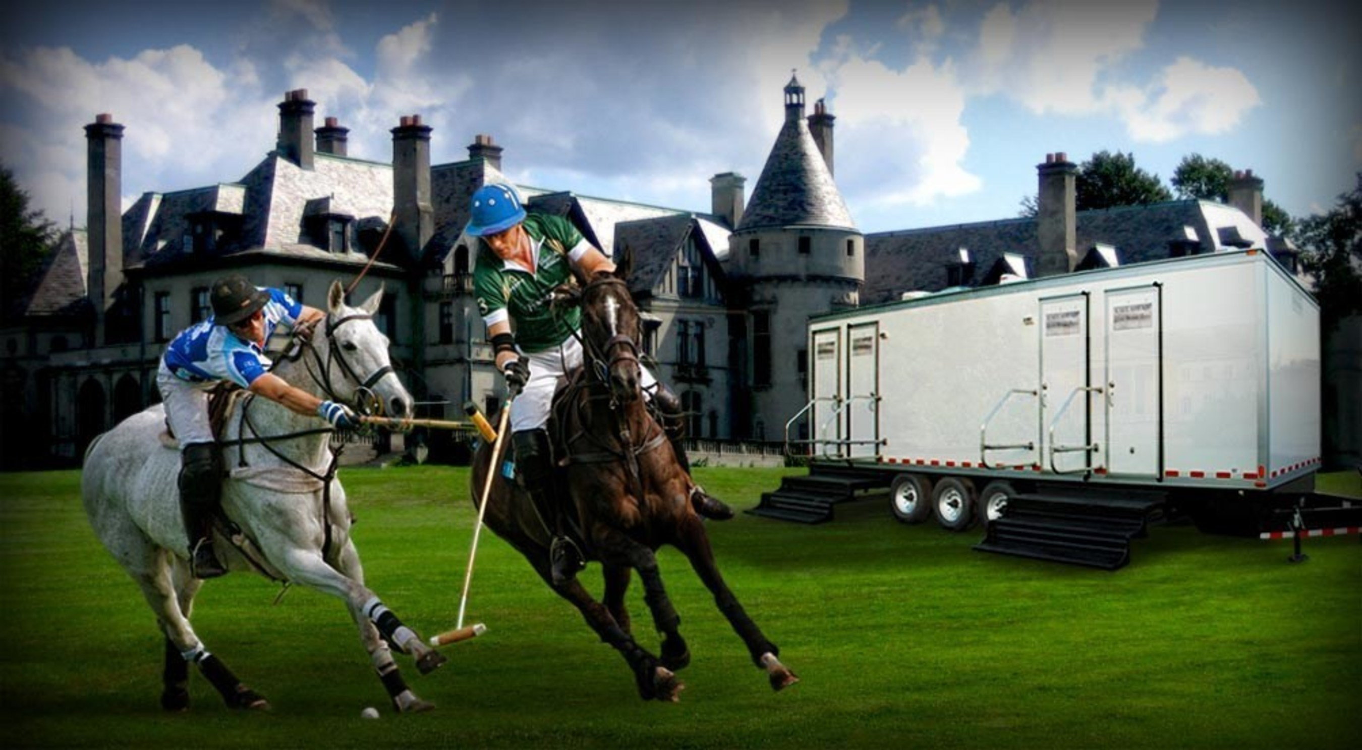 The Equestrian Luxury Restroom Trailer by CALLAHEAD Corp.