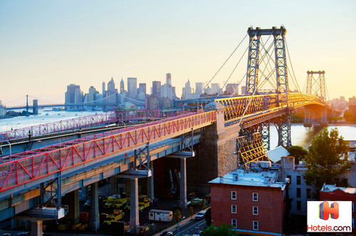 Williamsburg is one of the hippest neighborhoods outside of New York City.  (PRNewsFoto/Hotels.com)