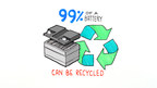 Did you know up to 99% of your vehicle battery is recyclable?