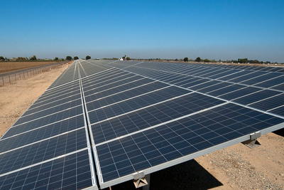 Solar installations, together with energy efficiency improvements, will reduce electricity purchases by 90% and save Patterson $6.5 million. (PRNewsFoto/Chevron Energy Solutions) (PRNewsFoto/CHEVRON ENERGY SOLUTIONS)