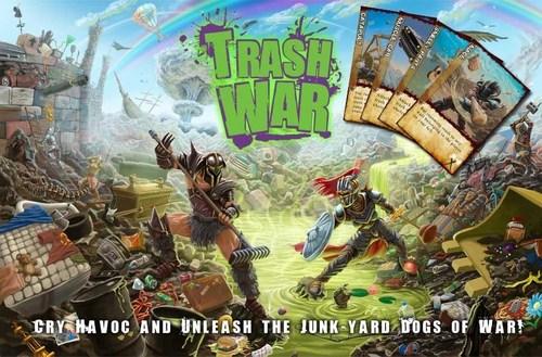 Trash War - A Gangrene Game (PRNewsFoto/Gangrene Games)