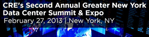 Join Leading Data Center Real Estate and Technology Infrastructure Executives at The Second Annual Greater New York Data Center Summit & Expo, a production of CapRate Events, LLC (CRE). Featuring Disaster Recovery and Redundancy Post Sandy; End-User ...