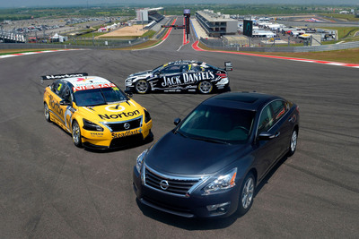 Nissan Altima Set To Race In This Weekend's Austin 400 V8 Supercars Race.  (PRNewsFoto/Nissan North America)