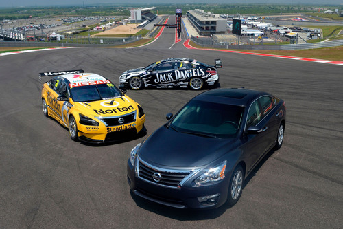Nissan Altima Set To Race In This Weekend's Austin 400 V8 Supercars Race