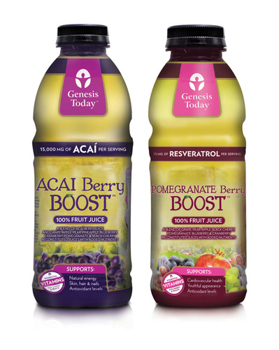 Genesis Today Boosts Accessibility Of Healthier Juice Options In