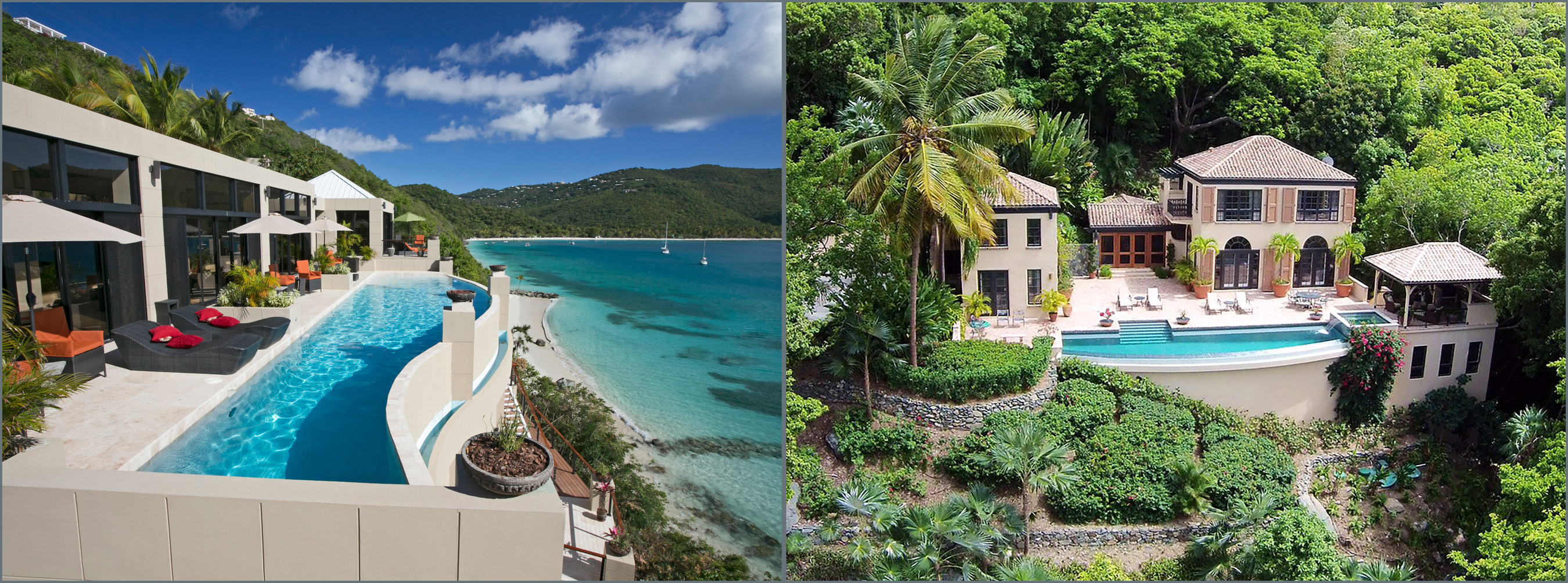 These luxurious Caribbean properties will be sold at auction on June 13, 2015 by Platinum Luxury Auctions. On St. Thomas, Platinum will offer an oceanfront estate in Magens Bay to the highest bidder above $5 million. The property was recently listed for $14.9 million. The firm will also offer St. John's Villa Rivendell for auction. Located within the exclusive Peter Bay community, the property will sell to the highest bidder above $2.5 million. The Villa was recently offered for $6.25 million. The property's additional, vacant parcel will also be offered at auction.