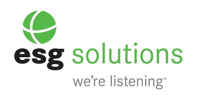 ESG Solutions Logo. (PRNewsFoto/ESG Solutions)