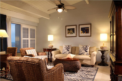 Living Room at Pier House Resort and Spa