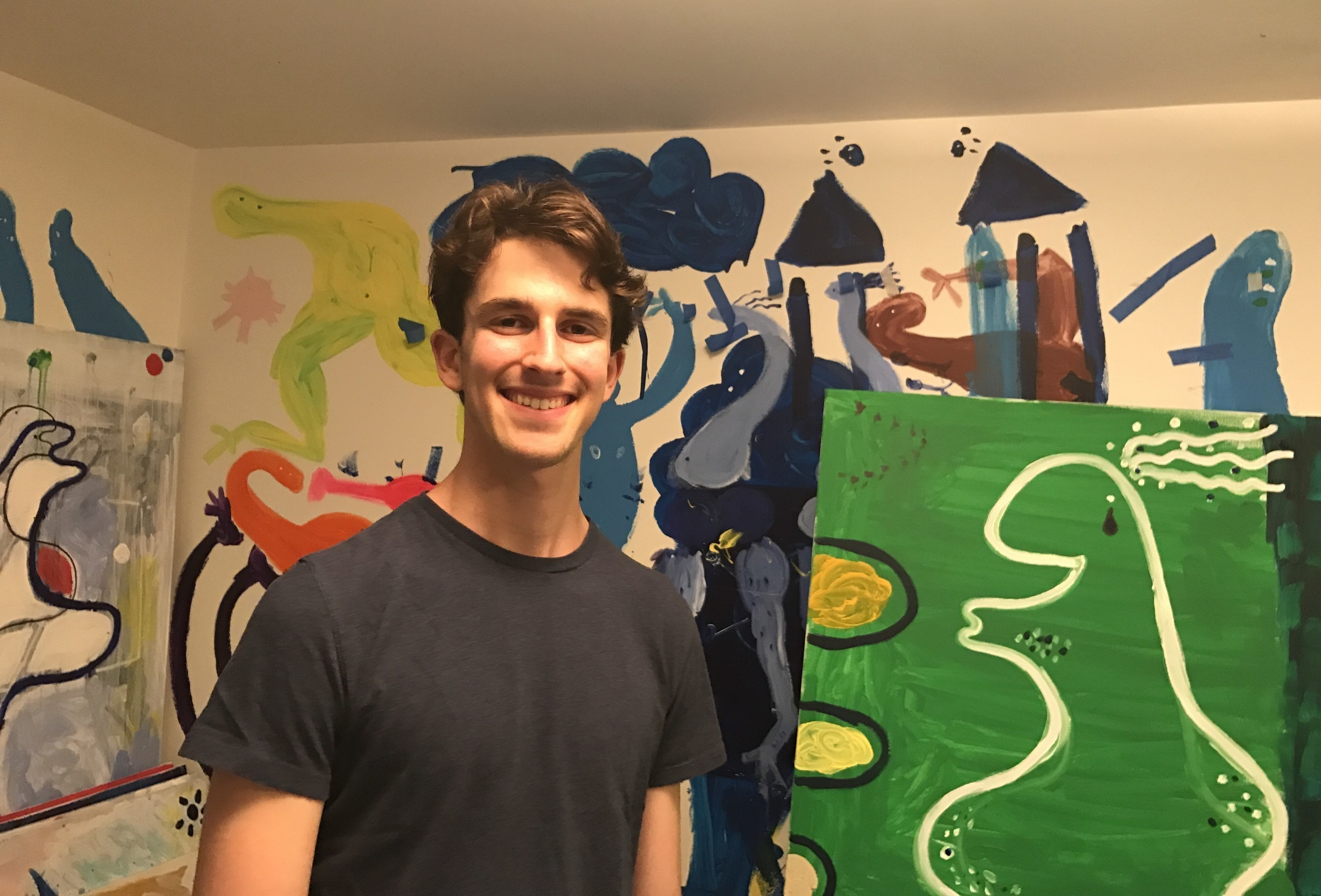 High school teen, Adam Jonah, spreads unity with his artistic talents despite hate crimes and bomb threats in the local community.