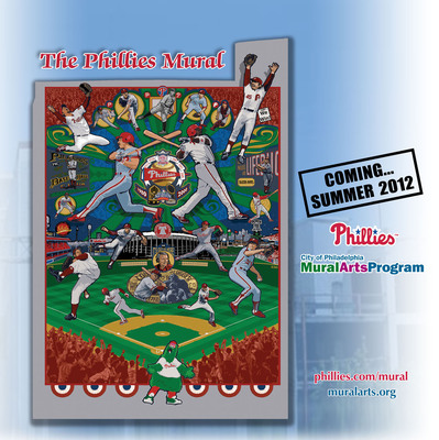 Mural Arts Program Unveils New Center City Mural to Highlight the History of the Philadelphia Phillies