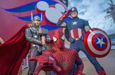 Disney Cruise Line Introduces First-Ever Marvel Day at Sea on Select Disney Magic Sailings from New York in Fall 2017