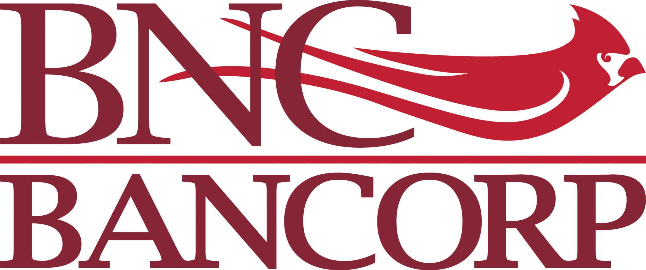 BNC Bancorp logo. BNC Bancorp is a one-bank holding company for Bank of North Carolina.