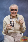 Comic Icon Stan Lee with His New Cologne.  (PRNewsFoto/JADS International, LLC)
