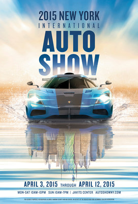 Javits Center Car Show >> New York Auto Show Unveils 2015 Poster Artwork