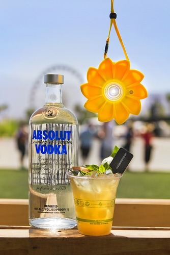 Absolut Little Sun celebrates creativity and global togetherness through cocktails, art and music set against the unique festival experience of Coachella. (PRNewsFoto/Pernod Ricard USA)