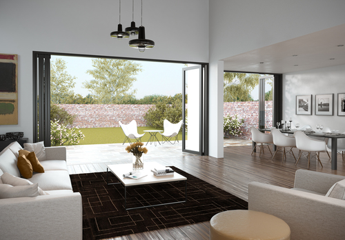A new category of doors that enable inside/outside living without the compromises. (PRNewsFoto/Centor)