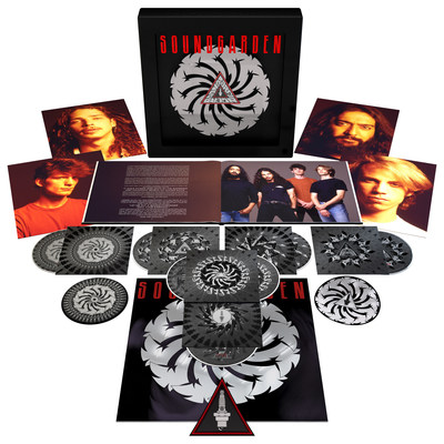 SOUNDGARDEN TO RELEASE 25TH ANNIVERSARY EDITIONS OF INFLUENTIAL 1991 ALBUM BADMOTORFINGER ON NOVEMBER 18TH VIA UME/A&M RECORDSSEVEN-DISC SUPER-DELUXE PACKAGE FEATURES REVOLVING BADMOTORFINGER ICON, REMASTERED ORIGINAL ALBUM, UNRELEASED STUDIO OUTTAKES, LIVE RECORDINGS, AND MORE
