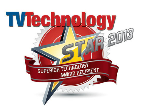 TV Technology STAR award.  (PRNewsFoto/Masstech Group)